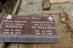 Augustine Marie <I>Le Texier</I> Le Helloco