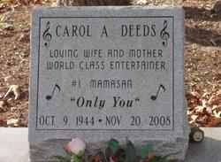 Carol A Deeds
