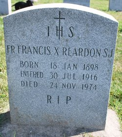 Fr Francis X. Reardon