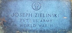 Pvt Joseph Zielinski