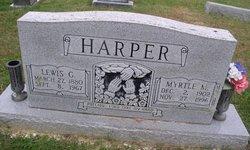Lewis G Harper