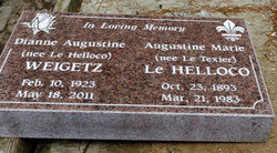 Dianne Augustine <I>Le Helloco</I> Weigetz