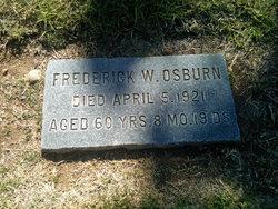 Frederick W Osubrn