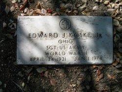 Sgt Edward J Korke, Jr