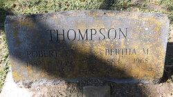 Bertha Mae <I>Moore</I> Thompson