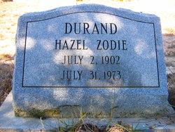 Hazel Zodie Durand