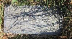 Eliza Eugenia <I>Dickie</I> Nicholls