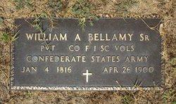 PVT William Addleton Bellamy, Sr