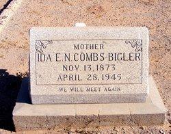 Ida Ella Nora <I>Combs</I> Bigler