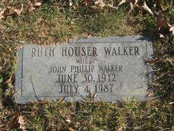 Mary Ruth <I>Houser</I> Walker