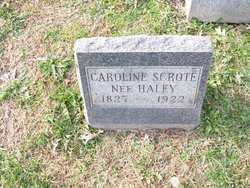 Caroline <I>Haley</I> Scrote