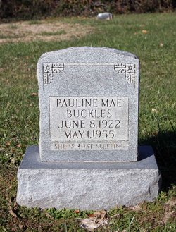 Pauline Mae Buckles