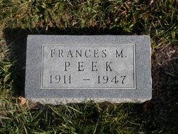 Frances M Peek