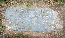 Wahneta W. Merrill