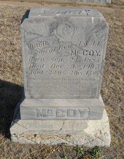 Virgil F McCoy