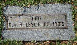 Rev Alonzo Leslie Williams