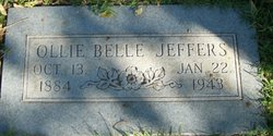 Ollie Belle <I>Smalley</I> Jeffers