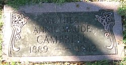 Annie Maude <I>Jacobs</I> Campbell