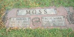 Rose Marie <I>McCord</I> Moss