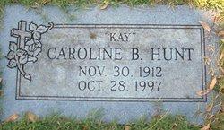 "Caroline B ""Kay"" Hunt"