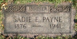 Sadie Emma <I>Peters</I> Payne