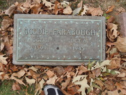 Goldie <I>Huddleston</I> Farabough