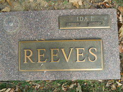 Ida I Reeves