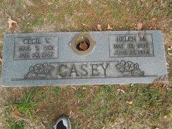 Cecil V Casey