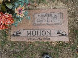 Marjorie A Mohon