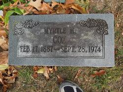 Myrtle M Cox