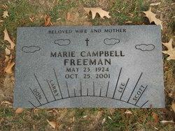 Marie <I>Campbell</I> Freeman
