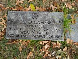 Charlie ODonel Campbell, Sr