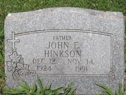 John E. Hinkson