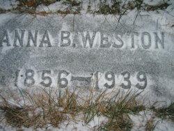 Anna Belle <I>Brown</I> Weston