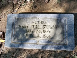 Mary Ethel Stewart