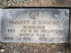 Emmett G Riggins