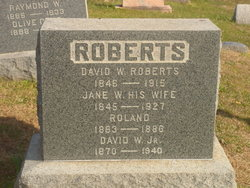 David W Roberts, Jr