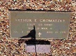 """Arthur E. """"Pat"""" Gromatzky"""