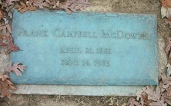 Frank Campbell McDowell