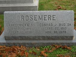 """Conrad Joseph """"Bud"""" Rosemere, Sr"""