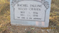 Rachel Pauline <I>Kelso</I> Craven