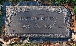 Hazel Marie <I>Moorman</I> Bleitz