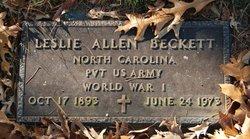 Leslie Allen Beckett