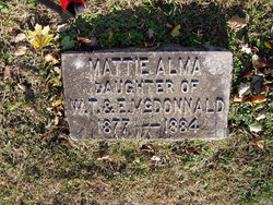Mattie Alma McDonnald