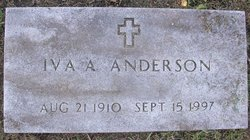 Iva A Anderson