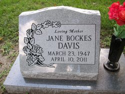 Jane <I>Clark</I> Bockes Davis