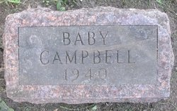 Infant of Robert Campbell