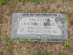 Theaster Nichols Mole