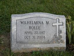 Wilhelmina M Bolle