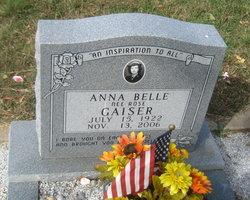 Anna Belle <I>Rose</I> Gaiser